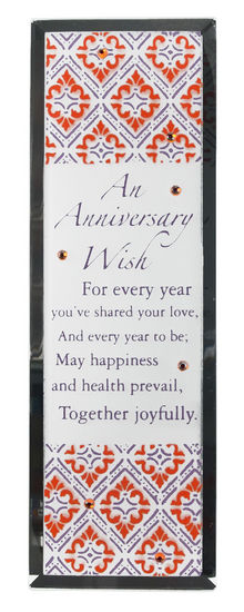 Jeweled Mirror-Anniversary 124468 ,wall decor, home plaque, wall plaque, message plaque, anniversary gift, couples gift