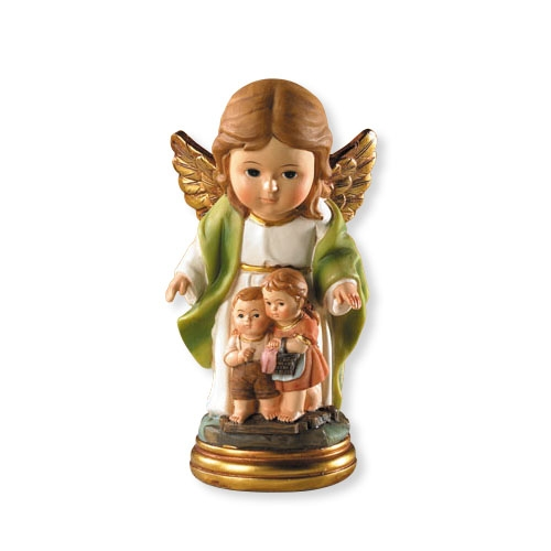 For Goodness Saints-Guardian Angel Statue guardian angel of children, guadian angel statue, guardian angel figure, gift, home decor, vc504
