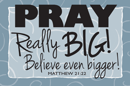 Pass It On-Pray Really Big 29133,message cards, holy cards, bookmarks, prayer cards, thougts, card to share, group gifts, inspirational gift, sacramental gifts,