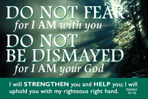 Pass It On-Do Not Fear 29070, message cards, holy cards, bookmarks, prayer cards, thougts, card to share, group gifts, inspirational gift, sacramental gifts,