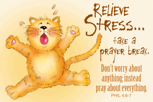 Pass It On-Relieve Stress 28003, message cards, holy cards, bookmarks, prayer cards, thougts, card to share, group gifts, inspirational gift, sacramental gifts,