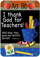 Verse Cards-I thank God for Teachers 13848, verse card, prayer card, inspiration cards, group gift, retreat gifts, message card,