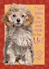 I Just Gotta Be-Large Poster 63411, poster. wall decor, large poster, inspirational message, teacher resource, school supplies, sunday school, classroom,