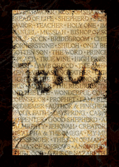 Jesus-Large Poster 63389, poster. wall decor, large poster, inspirational message, teacher resource, school supplies, sunday school, classroom,