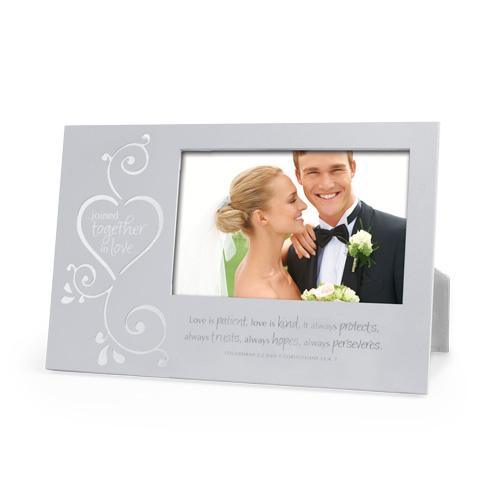 Joined Together Frame 17887, frame, wedding frame, wedding gift, anniversary frame, anniversary gift
