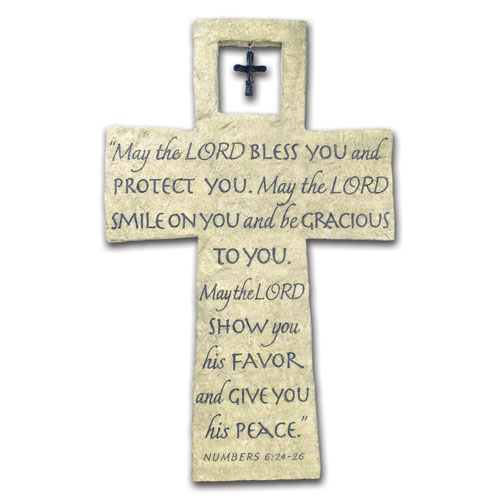 Bless You Wall Cross 11800, wall cross, home decor, wall decor, new home, inspirational cross