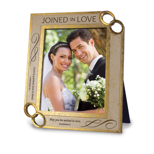 8 X 10 Joined in Love Frame frame, wedding frame, wedding pictures, ring frame, joined in love,17989