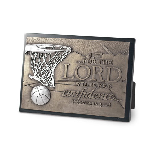 Basketball Moments of Faith Plaque plaque, bronze plaque, faith, sports gift, sports plaque,basketball,20756
