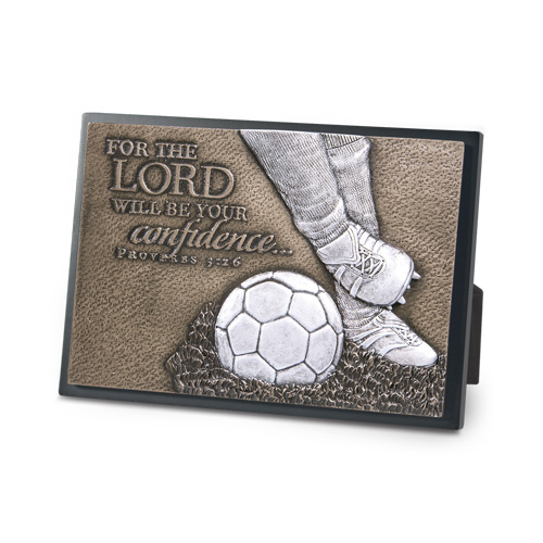 Soccer Moments of Faith Plaque plaque, bronze plaque, faith, sports gift, sports plaque,soccer,20762