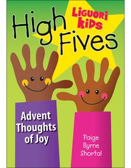 High Fives Advent: Thoughts of Joy advent books, books, prayer book, preparation books, christmas book, seasonal book, advent stories, advent for children, 816321