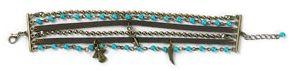 Multi Strand Beaded Bracelet Angel