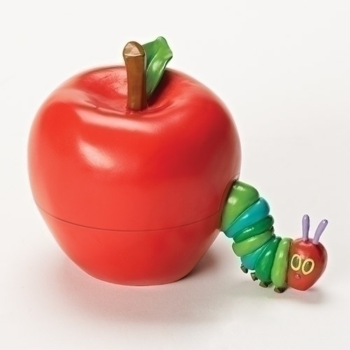 Very Hungry Caterpillar Keepsake Box trinket box, caterpillar, apple, keepsake box, caterpillar box, 10694