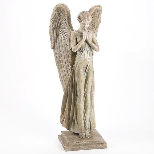 """34"""" Standing Angel Statue angel statue, garden statue, lawn statue, angel, standing angel, standing statue,  outdoor statue, 10778"""