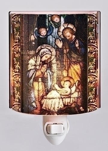 Nativity Nightlight nightlight, light, christmas d?cor, christmas light, holy family d?cor, nativity light, 164091