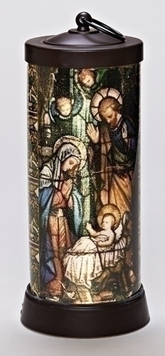 "Nativity 13"" LED Lantern latern, home d?cor, home light, holiday d?cor, christmas d?cor, d?cor, nativity, holy family,  LED, holiday gift,164093"