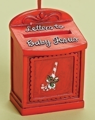 Letter to Jesus Mailbox Ornament ornament, christmas ornament, mailbox ornament, letters to jesus ornament,tree d?cor, tree ornament, unique ornament, christmas gift,31314