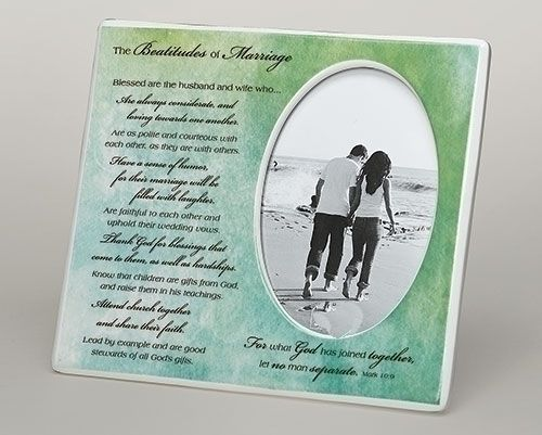 Beatitude of Marriage Frame 10267,anniversary, wedding anniversary, photo frame, frame gift,