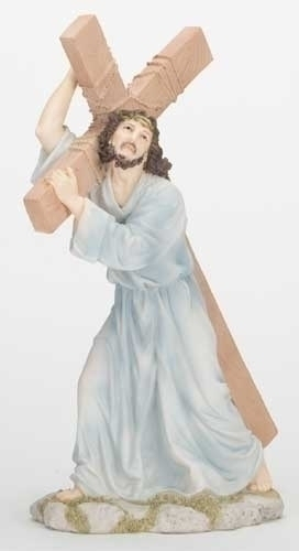 """12"""" The Way of the Cross Statue statue, colored statue, resin statue, home decor, church decor, figurine,jesus, stations of the cross, 42877"""