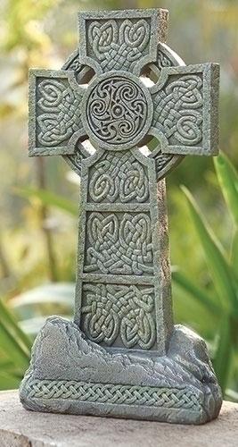 Standing Irish Garden Cross  irish gift, irish statue, irish cross, garden cross, garden statue, lawn statue, joseph studio, 65983