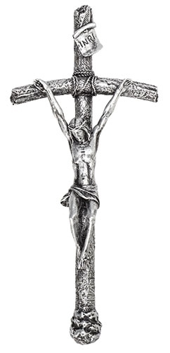 Papal Crucifix papel crucifix, cross, curcifix, wall cross, wall crucifix, home cross, church cross, 66067, joseph studio