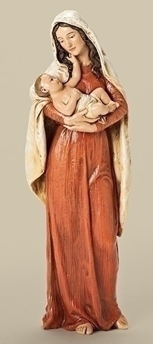 A Child%27s Touch Figure 66081, madonna and child figure, joseph studio, mary and child, mothers day gift, new mom gift,grandmother gift, baptism gift, madonna statue