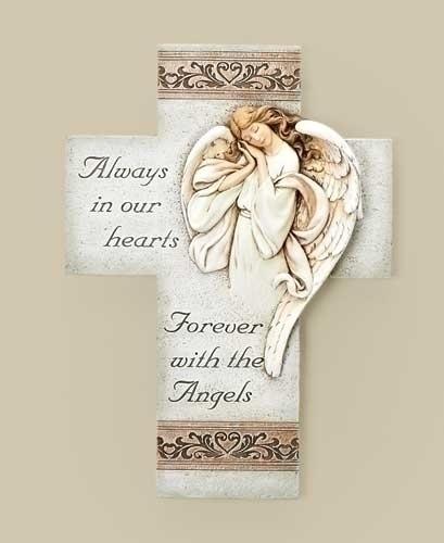 Memorial Angel Cross memorial angel, rememberence angel, memorial gift, angel cross, 68097