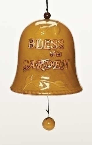 Bless This Garden%27 Garden Bell 79193,garden bell, lawn and garden , new home gift, chime