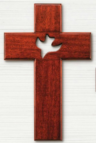 Mahogany Confirmation Wall Cross confirmation cross, wood cross, wall cross, sacramental cross, confirmation gift, sacramental gift, CXG1296