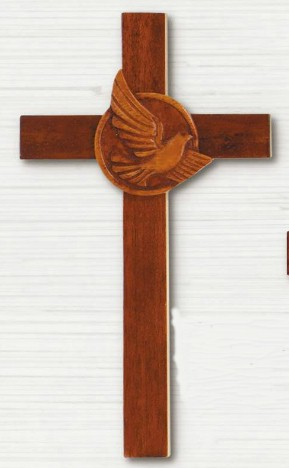 Mahogany Confirmation Wall Cross confirmation cross, wood cross, wall cross, sacramental cross, confirmation gift, sacramental gift, CXG1194