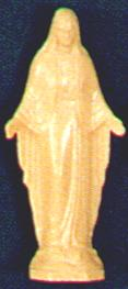 "4"" Plastic Our Lady of Grace Statue statue, mary, small statue, plastic statue, 1804 OLG"
