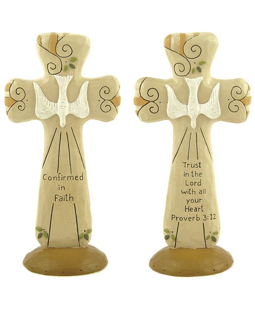 Assorted Standing Confirmation Crosses confirmation crosses, assorted crosses, standing cross, confirmation gift, 88187