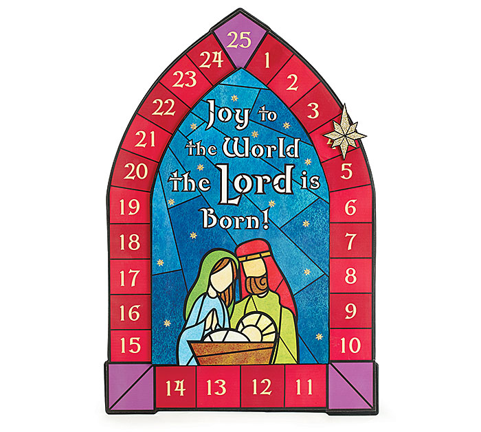 Nativity Advent Calendar *WHILE SUPPLIES LAST* calendar, advent calendar, childrens gift, advent, christmas, 9722524,nativity, holy family