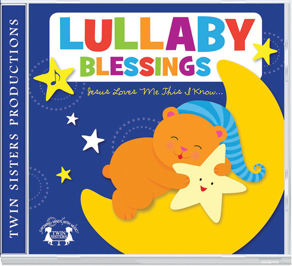 Lullaby Blessings Cd 978-1-63058-816-8, bible songs, baby cd, baby music, baby gift, shower gift, music, cd, 8168