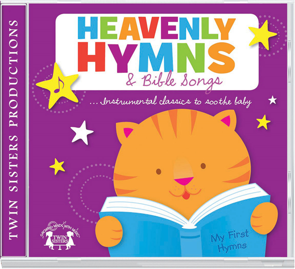 Heavenly Hymns Cd 978-1-63058-817-5, bible songs, baby cd, baby music, baby gift, shower gift, music, cd, 8175
