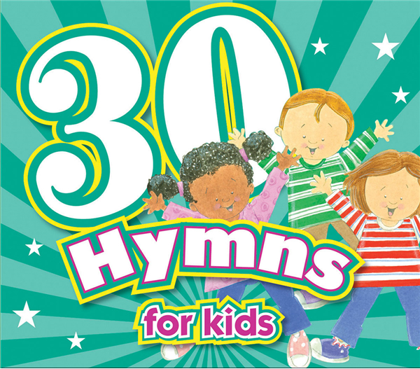 30 Hymns For Kids Cd 978-1-63058-811-3, bible songs, baby cd, baby music, baby gift, shower gift, music, cd, 8113