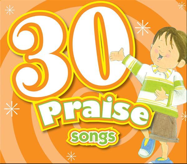 30 Praise Songs Cd 978-1-63058-813-7, bible songs, baby cd, baby music, baby gift, shower gift, music, cd, 8137