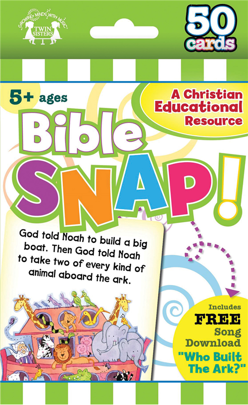 Bible Snap Christian 50-Count Game Cards 978-63058-793-2, wipe off games, activities,childrens activity book, teachers tool, travel book, travel activities, childrens gift, holiday gift, Sunday school materials, teachers material,flash cards,7932