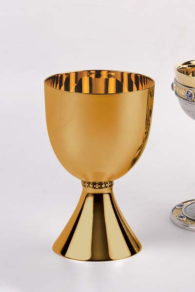 2927-05 Principal Chalice principal chalice, church goods, church supplies, 2927,goldplated,  molina, artistic silver,