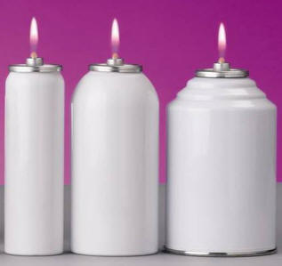 Liquid Paraffin in Metal Disposable Containers liquid paraffin, disposable container, candle shell, cartridge, candle fuel,2512cs,2560cs,4512cs,4524cs,7012cs,7024cs