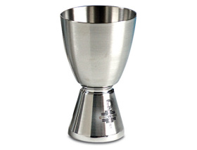 3389 Stainless Steel Chalice Chalice, 3389, Small Chalice, cup, wine, vessel, sacred vessel, travel size communion cup, travel chalice, communion cup