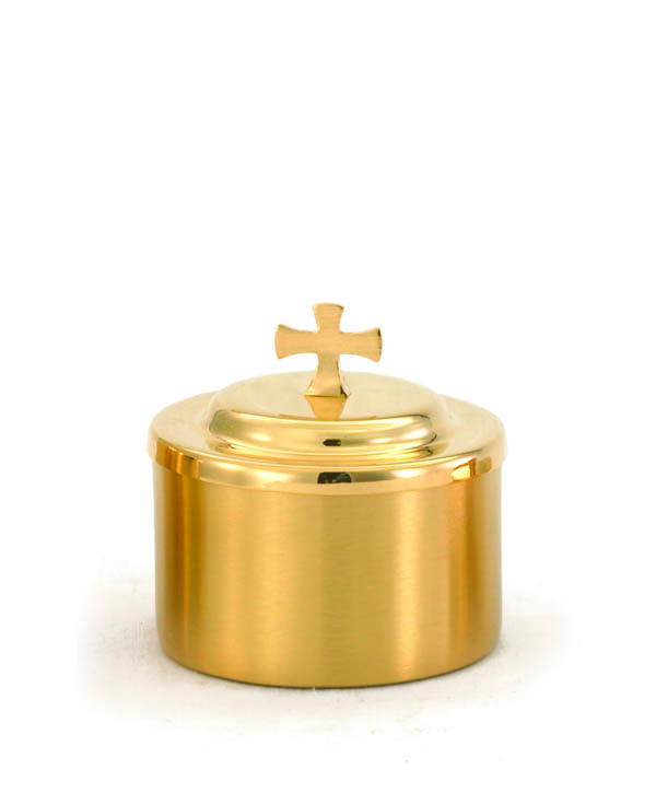 336G Gold Host Box host box, host holder, host bowl, sacred vessal, church goods, 336g