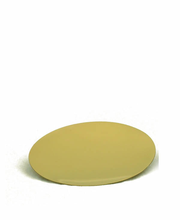 388G Paten  church goods, church supplies, paten, communion supplies, gold plated, 388G