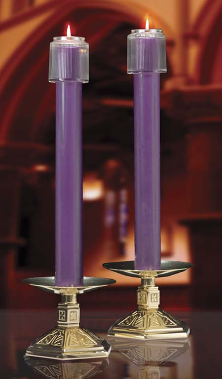 Purple 51% Beeswax Altar Candles Purple 51% Beeswax Altar Candles,82542504,82542604,82545504,82545602