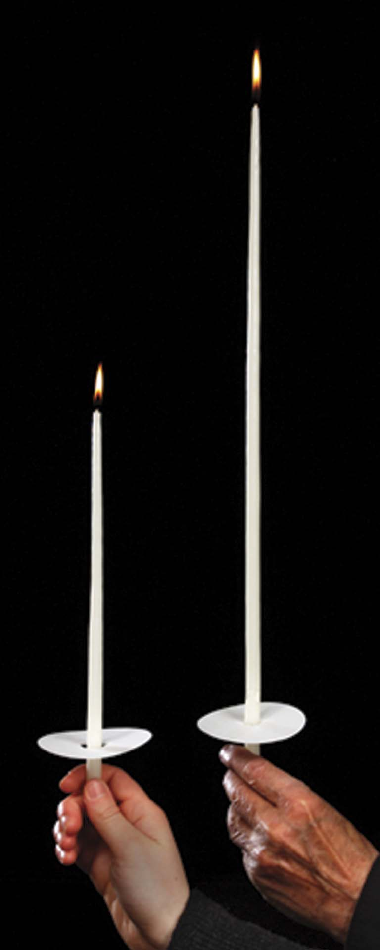 "18"" Congregational Taper Candles 18"" Congregational Taper Candles, 51% Beeswax,81102801"