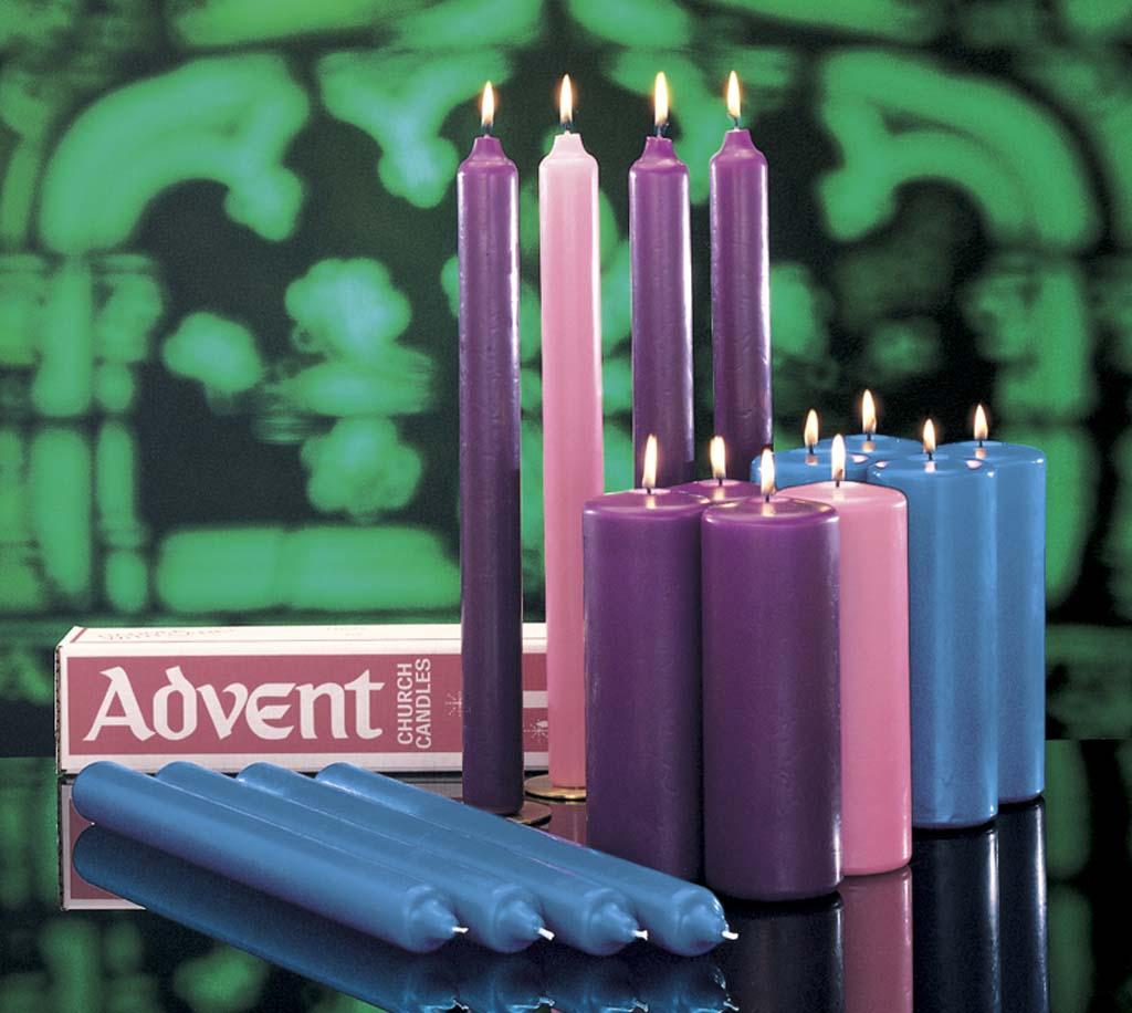 Church Advent Stearine Candle Set Church Advent Stearine Candle Set,82136004,82136404,82136904,82136204,82136804,82136304,82132004,82132404,82132904,82132204,82132804,82132304