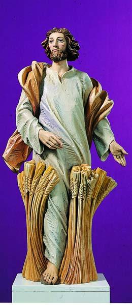 Jesus in the Wheat Field Statue