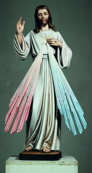 Jesus Divine Mercy Figure