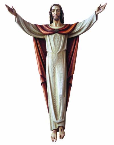 Risen Christ 3/4 Relief