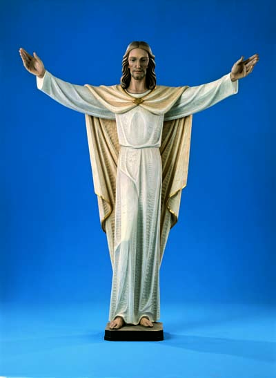 Risen Christ-Full Round Statue