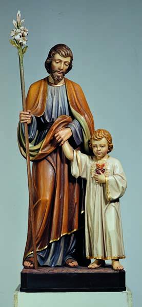St. Joseph with Boy Jesus Statue